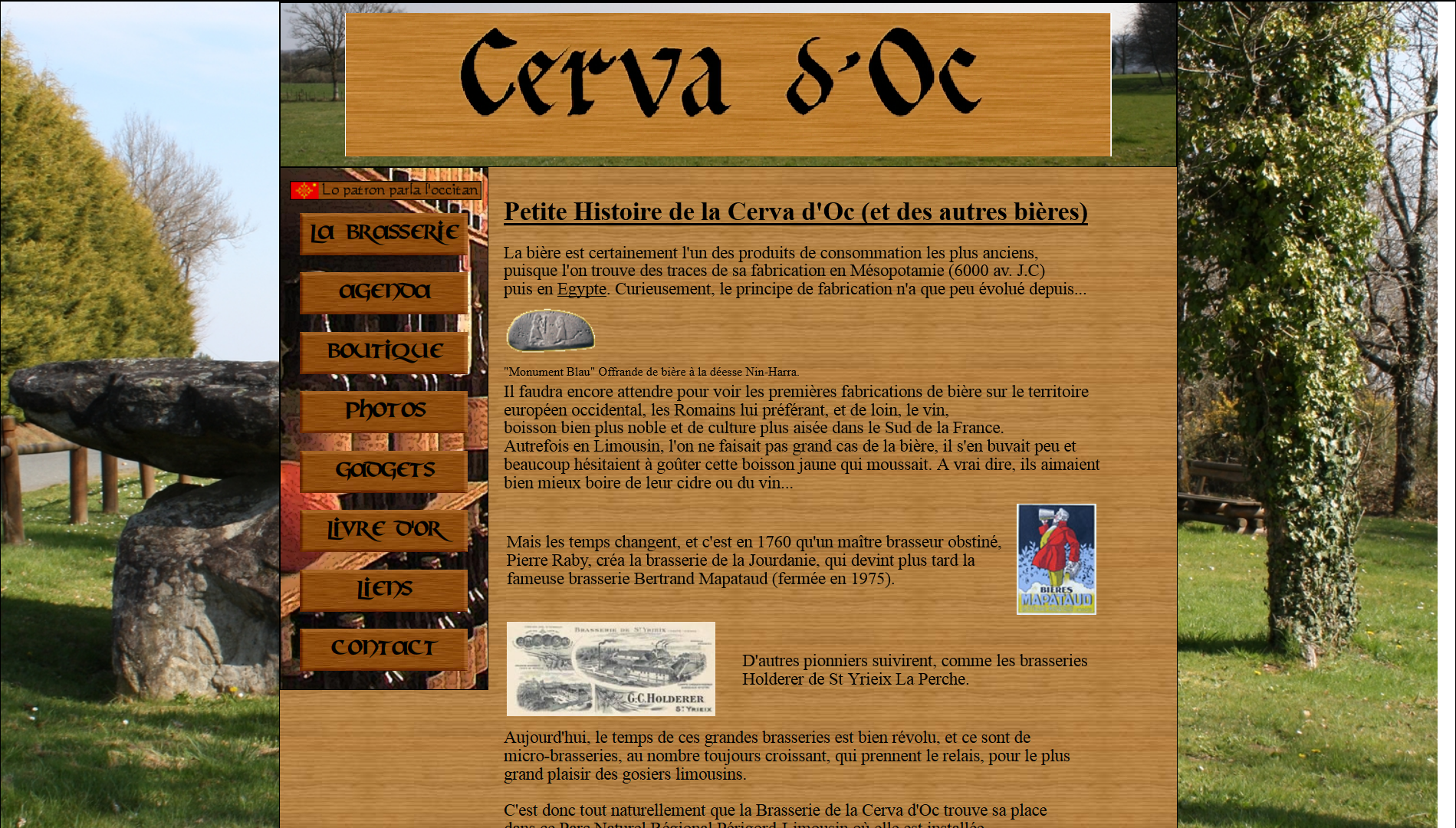 Site Cerva d'Oc