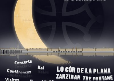 Affiche du 1er Festival Mascaret