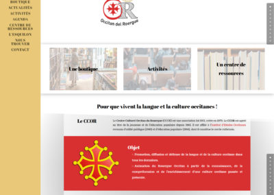 Site-Boutique du CCOR